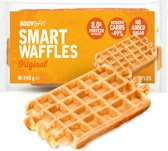 Body & Fit Smart Waffles - Eiwitrijk & Suikerarm - 1 pak (6 wafels) - Original