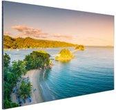 Caraibische brug Aluminium 120x80 cm - Foto print op Aluminium (metaal wanddecoratie)