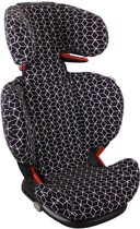 UKJE.NL Hoes zomerhoes autostoelhoes Maxi-Cosi RodiFix - Zwart geometrisch ♥
