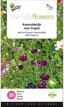Vogelbloemenmix 15 m² - set van 4 stuks