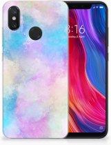 Xiaomi Mi 8 Uniek TPU Hoesje Watercolor Light