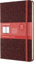 Limited Collection Notitieboek-Blend-19-Large-Gelinieerd-Rood