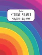 Dated Student Planner July 2019 - July 2020.