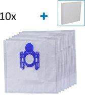 10x Stofzuigerzakken Voor AEG VX8 Stofzuiger Modellen - Met 2 Stuks Filter
