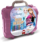 Multiprint Disney Frozen - koffer - 5 stempels + 10 potloden