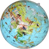 Caly Toys Opblaasbare Globe - Dieren -  ø 30 cm - (NL)