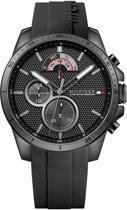 Tommy Hilfiger TH1791352 horloge heren - zwart - edelstaal PVD zwart
