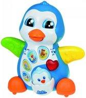 Baby Clementoni- maman pingouin et bébé picou.- Frans en engels