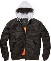 Vintage Industries Westend jacket black/grey