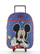 MICKEY MOUSE Kinder Trolley Koffer Logeren Vakantie