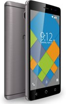 NUU Mobile A4L Unlocked Smartphone | 4G Sim Free Android Smartphone | Dual Sim Mobile Phone - 5MP HD Camera | Dual EU & UK Version (Grey) (16GB)