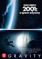 DVD cover van Gravity & 2001: A Space Odyssey