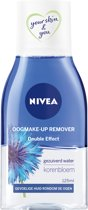 NIVEA Double Effect Waterproof  Oogmake-up Remover - 125 ml