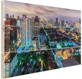FotoCadeau.nl - Washington DC Skyline Hout 120x80 cm - Foto print op Hout (Wanddecoratie)