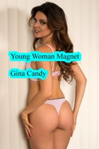 Young Woman Magnet