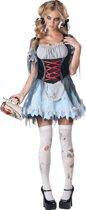 Zombie Tiroler kostuum voor vrouwen - Premium  - Verkleedkleding - Large