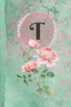 Personalized Monogrammed Letter T Journal