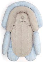 Diono - Autostoelverkleiner baby - Maxi Cosi verkleiner - Cuddle Soft blauw/grijs