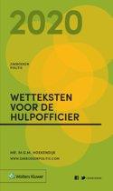 Zakboeken Politie - Zakboek Wetteksten voor de Hulpofficier 2020