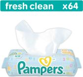 Pampers b.doekjes fresh 64 st