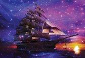 Fotobehang Sailing Ship   XXXL - 416cm x 254cm   130g/m2 Vlies