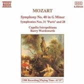 Symphony No. 40,28 & 31