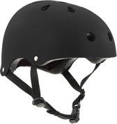 SFR Essentials Skate/BMX helm Helm - UnisexKinderen en volwassenen - zwart Maat S/M: 53-56cm