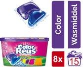 Color Reus Duo-Caps Wasmiddel Capsules - Halfjaarbox - 120 wasbeurten