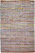 Kayoom met de hand gevlochten vloerkleed 120 x 170 Multikleur