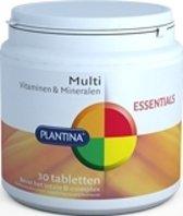 Plantina Essentials Multi Vitamine A-Zink 30 Tabletten