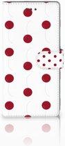 Samsung Galaxy Note 8 Bookcase hoesje Design Cherries