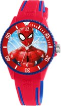 AM:PM horloge rood blauw MP187-U624  Spiderman MARVEL