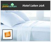 Homéé - Laken Hotel Wit Lits-jumeaux - 280x290/5cm 100% Katoenen 20A - Set van 2 stuks