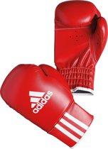 adidas Rookie Bokshandschoenen - Unisex - rood/wit - 4 OZ