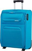 American tourister Spring Hill Upright Handbagagekoffer 55 cm SKY BLUE