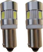 BA9s 6 HighPower Canbus 2.0 LED binnenverlichting - wit
