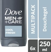 Dove Men+Care Cool Fresh - 6 x 250 ml - Douchegel
