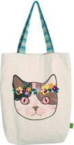 GINGER Cat Flower Power Tas