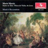 Suites En Trio: Pieces De Violes, 4E Livre