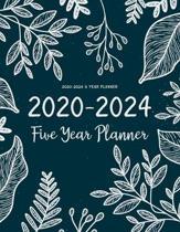 2020-2024 5 Year Planner: Five Years 60 Months Calendar Monthly Planner Schedule Organizer For To Do List Academic Schedule Agenda Logbook Or St