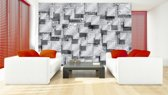 Gray | Silver Photomural, wallcovering