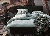 Essenza Home dekbedovertrek Minte dusty green - extra kussensloop (60x70 cm)