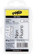 Toko Ski/Snowboard Wax - All-in-One Hot Wax - All Condition Hard - Warm - 40 gram