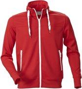 Printer Jog Sporty Sweatshirt Red 3XL