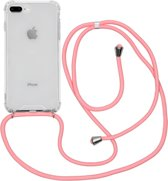 iMoshion Backcover met koord iPhone 8 Plus / 7 Plus / 6(s) Plus hoesje - Roze