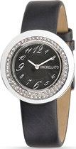 Morellato Luna - R0151112503 - dames horloge - leer - kristallen - zilverkleurig