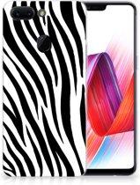 OPPO R15 Pro TPU Hoesje Zebra