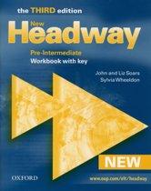 New Headway - Pre-intermediate 3rd Edition workbook with key