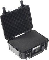 B&W International Type 1000 Outdoor Case incl. schuimstof - zwart