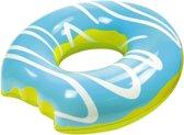 Didak Pool Opblaasbare Mega Blauwe Donut 108 Cm - Opblaasfiguur